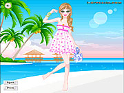 Vestir a Barbie en la Playa II