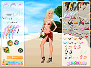 juego vestir foto 18 Vestir a Barbie en la Playa III
